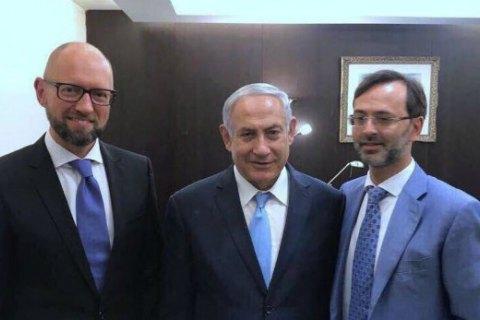 Яценюк встретился с Нетаньяху в Иерусалиме
