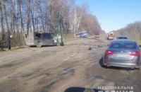 Біля Сум рейсовий автобус потрапив ДТП, троє загиблих