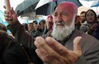 Более 10 тысяч крымчан собрались на траурный митинг в Симферополе