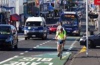 В Киеве велосипедистам разрешили ездить по полосам общественного транспорта