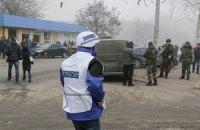 Місія ОБСЄ заявила про попереджувальну стрілянину з боку українських військових