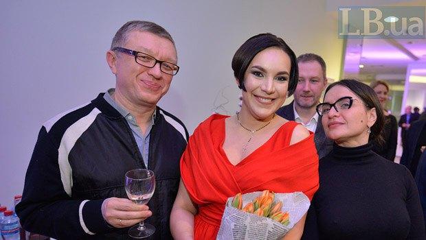 Тарас Козак, Соня Кошкина и Наталья Емченко