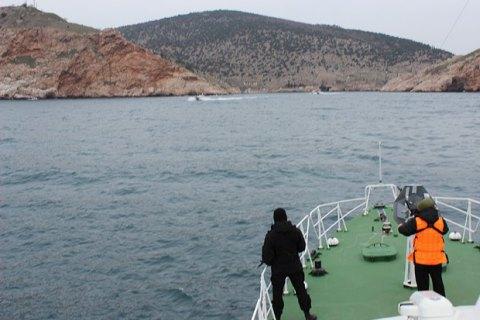 Пограничники зафиксировали над Крымом три российских вертолета и самолета