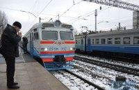 УЗ запустила челночные электрички, соединяющие Киев с западными пригородами