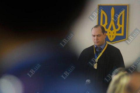 Генпрокуратура просит отстранить от должностей судей Царевич и Вовка