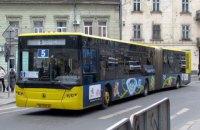 Во Львове полиция начала изымать городские автобусы