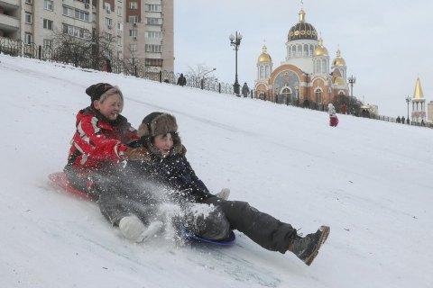 Температура в січні була вищою за оновлену кліматичну норму на 0,7 градуса