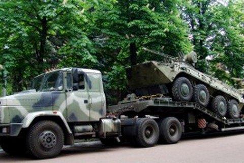 Нацгвардия получила первую партию БТР с немецкими двигателями