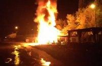 В Одессе горел завод