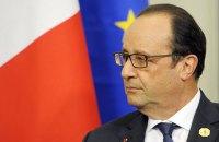 Во Франции полицейский случайно выстрелил во время выступления президента (обновлено)
