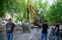 Возле исторических зданий Музея выдающихся деятелей украинской культуры начинают строить высотку