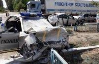 Двоє поліцейських у тяжкому стані потрапили до лікарні після ДТП в Ізюмі