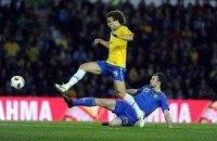 Сборная Бразилии победила в прощальном матче Роналдо