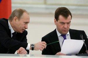 """Путин обсудит с Медведевым """"экстраординарную ситуацию"""" вокруг Украины"""