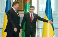 Ашхабад, второй визит Виктора Януковича в Среднюю Азию. Картинки