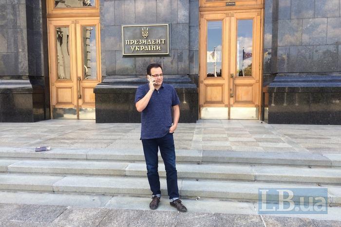 Березюк оголосив голодування: вимагає владу вивезти зі Львова сміття Садового