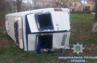 """В Одесской области """"Таврия"""" столкнулась с маршруткой: один человек погиб, десять травмированы"""