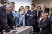 Страны G7 в коммюнике выразили готовность к новым санкциям против РФ