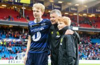 """Син наставника """"Манчестер Юнайтед"""" дебютував у професійному футболі в матчі проти команди батька"""