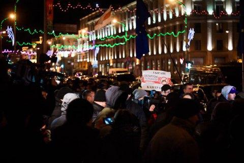У Білорусі влаштовують акції на підтримку незареєстрованих кандидатів у президенти