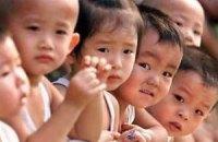 """Китай відмовиться від політики """"Одна сім'я - одна дитина"""""""