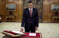 Уперше в історії прем'єром Іспанії став атеїст