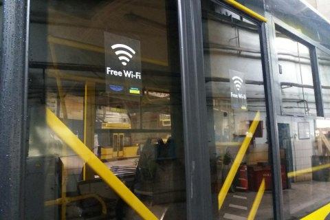 В киевских троллейбусах появился бесплатный Wi-Fi