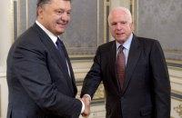 Порошенко пожелал выздоровления сенатору и другу Маккейну