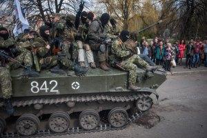 МВД заявило, что боевики хоронили погибших в центре Славянска