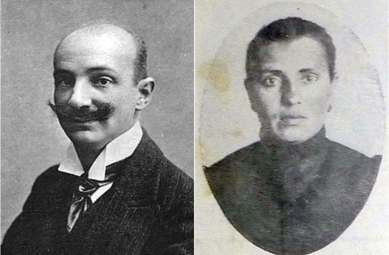 Василий Шульгин и Вера Чеберяк