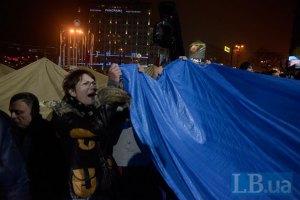 """Беркут"" помешал установить палатки на Майдане"