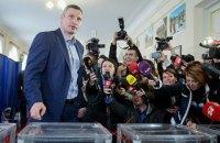 Подсчеты БПП: во второй тур выборов мэра Киева выходят Кличко и Бондаренко