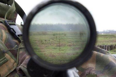 В Троицком снайпер боевиков ранил бойца АТО