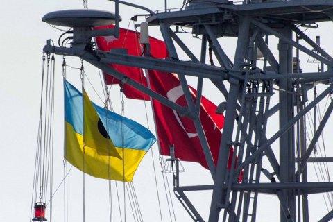 В порт Одессы зашли турецкий фрегат и десантно-штурмовой катер