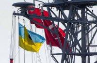У порт Одеси зайшли турецький фрегат і десантно-штурмовий катер