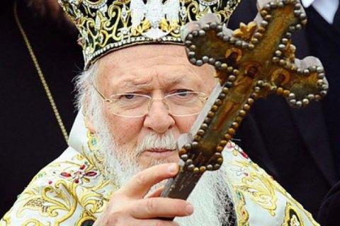 Патриарх Варфоломей поздравил Зеленского с победой на выборах
