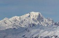 При сходженні на Монблан у Франції загинув український альпініст