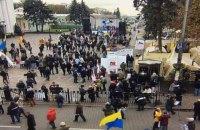 За порядком в палаточном городке следят около 700 полицейских и нацгвардейцев