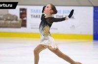 13-річна фігуристка виконала два четверні тулупи на турнірі в США