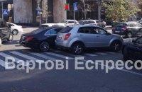 Сын Шуфрича снова попал в ДТП в Киеве