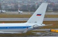 У білоруському Гомелі приземлився літак російського уряду