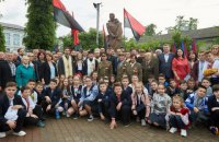 В Івано-Франківську відкрили пам'ятник Шухевичу