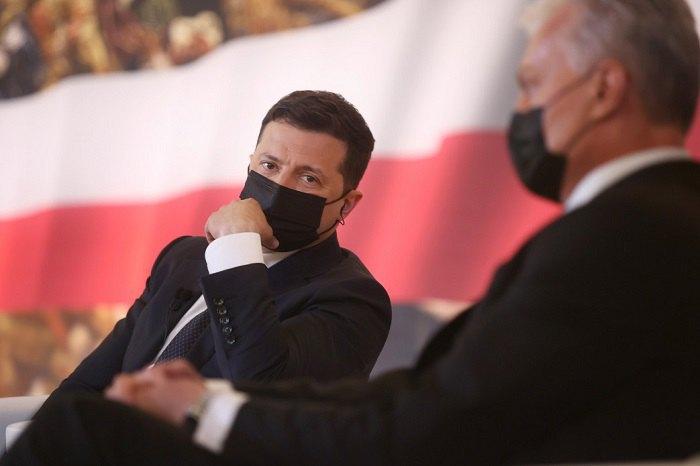 Президенти України та Литви - Володимир Зеленський та Гітанас Наусєда