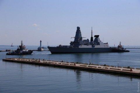 В Одеський порт заходять чотири кораблі НАТО