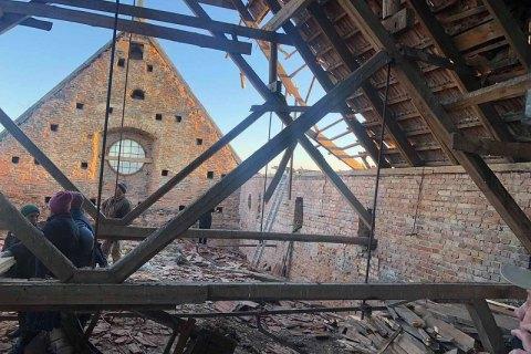 Во Львовской области обрушилась крыша памятника архитектуры XVIII века