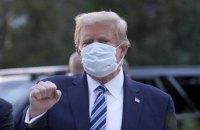 Трамп заявив, що вилікувався від коронавірусу
