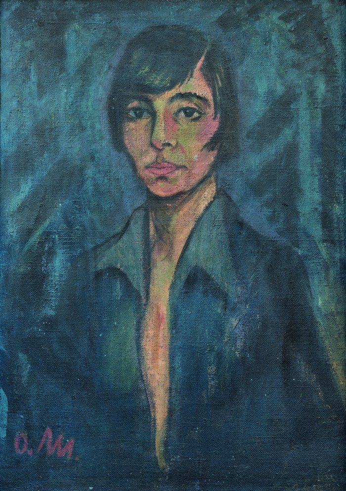 "Отто Мюллер, ""Портрет Машки Мюллер"", 1925"