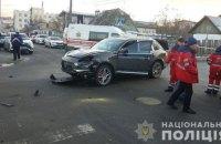 В Киевской области Porsche врезался в маршрутку, погибли два ее пассажира