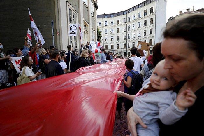 Акція за звільнення білоруських протестувальників