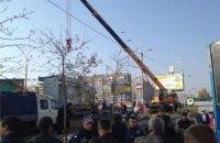 Кличко обещает очистить Оболонь от незаконных МАФов